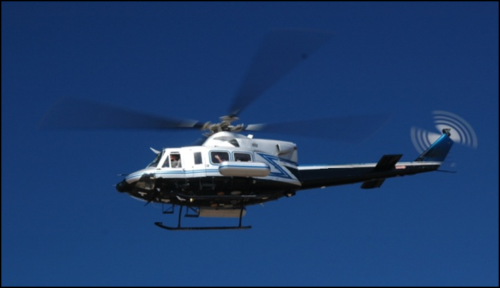 NNSA Radiation Monitoring Helicopter (Photo: Department of Energy)